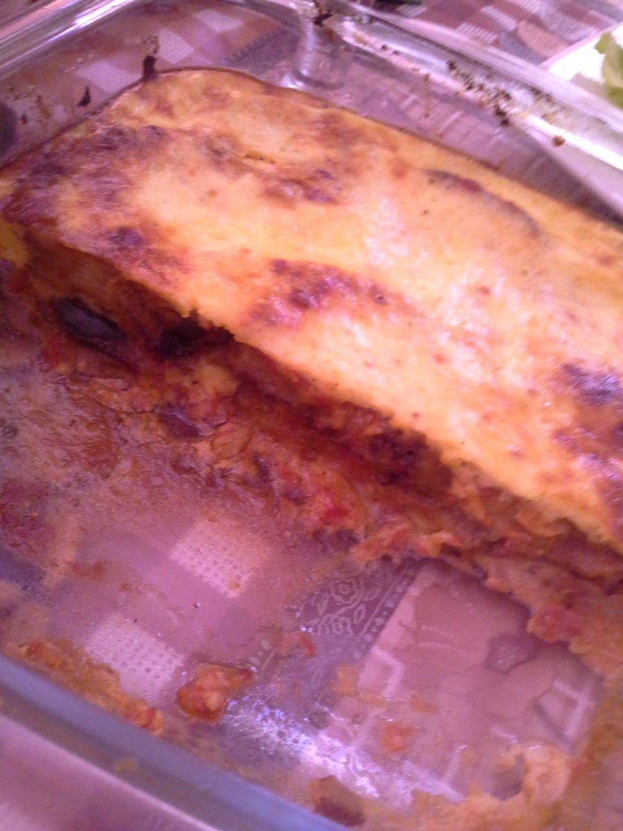 gratin d'aubergine façon moussaka
