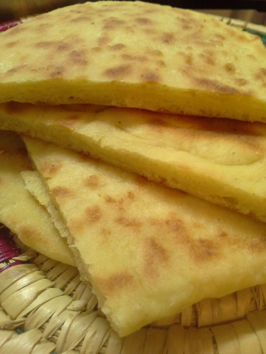 Mes Naans au fromage