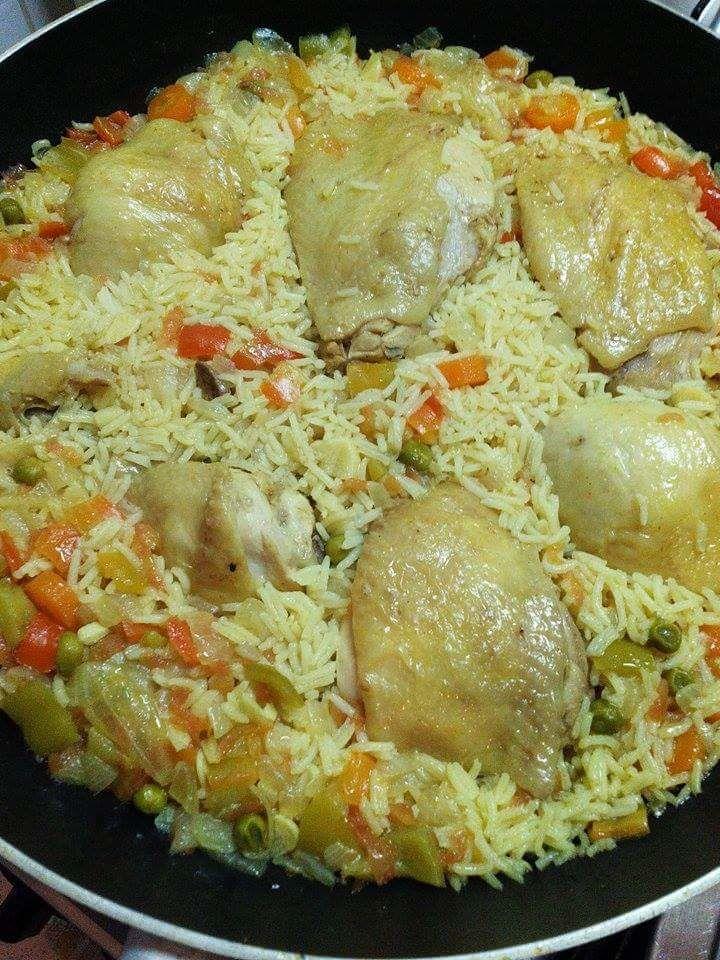 Poulet au curry de madras