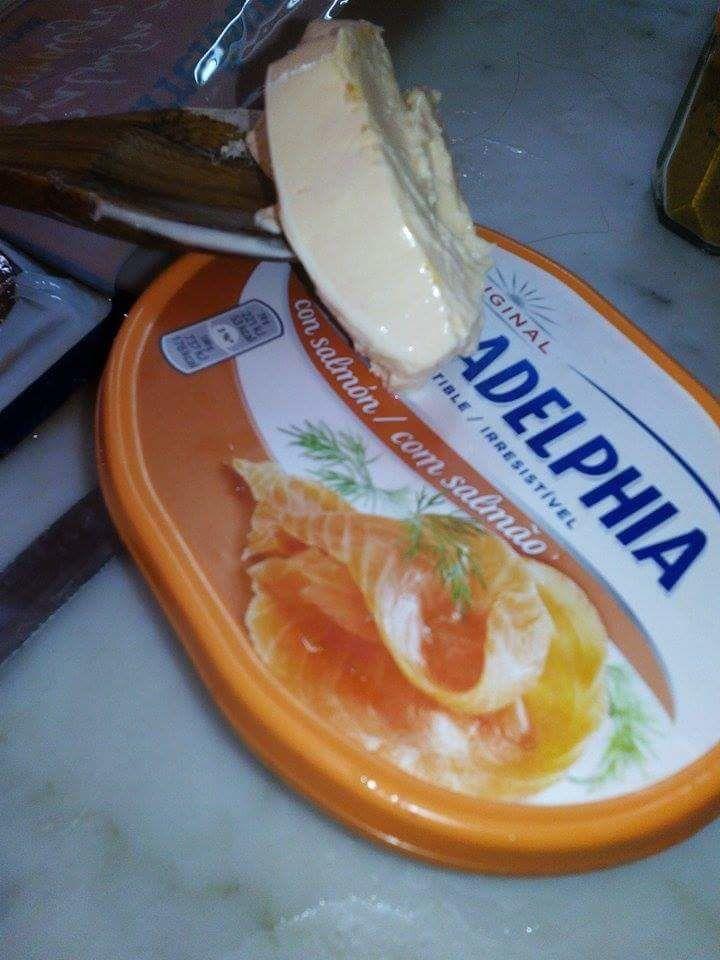 Farfales  au saumon fumé et crème au fromage