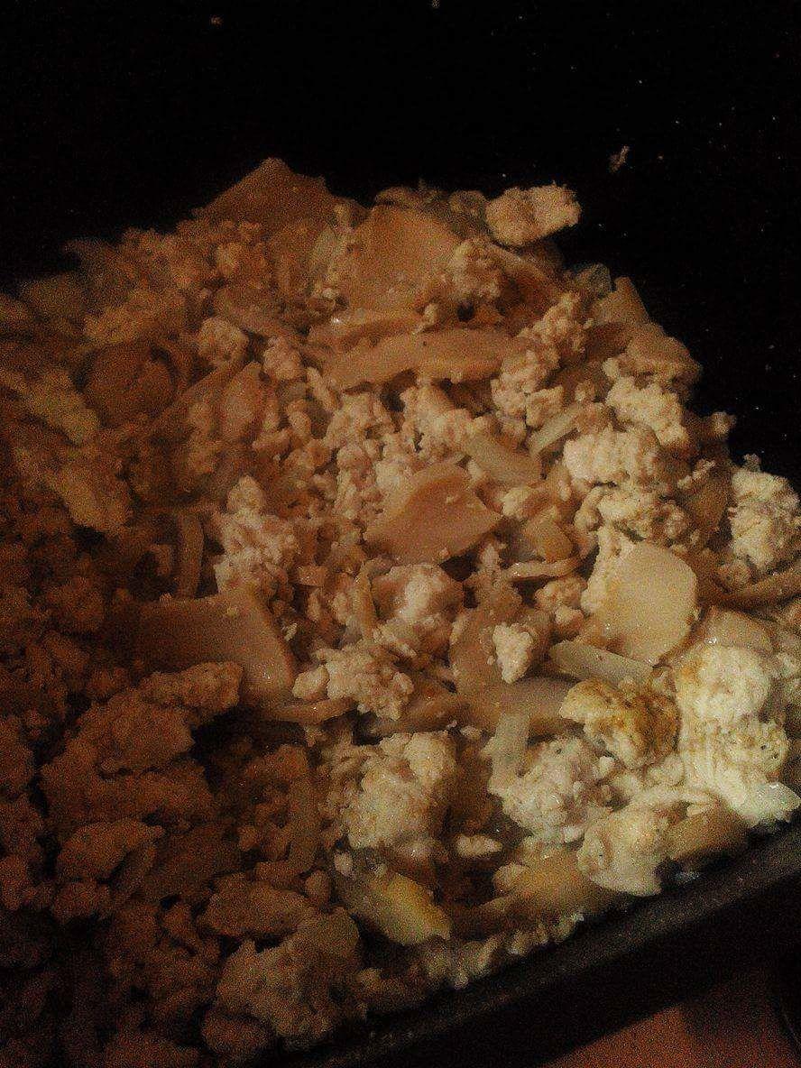 Mini cassolettes à la courgette et au poulet