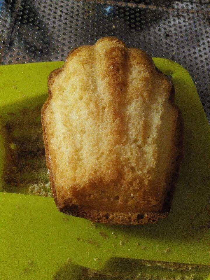 Madeleines au sucre à la vanille
