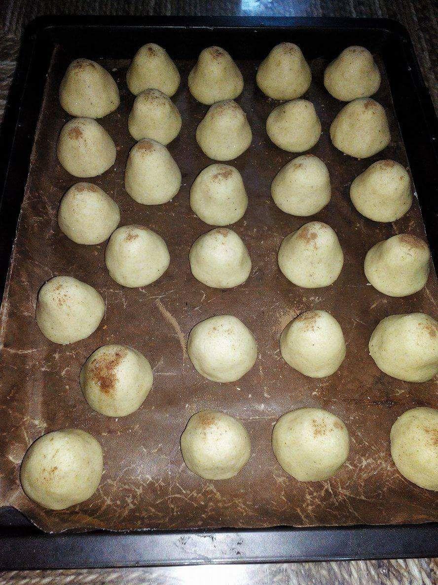 ghribiya croquante au goût pistache et amandes