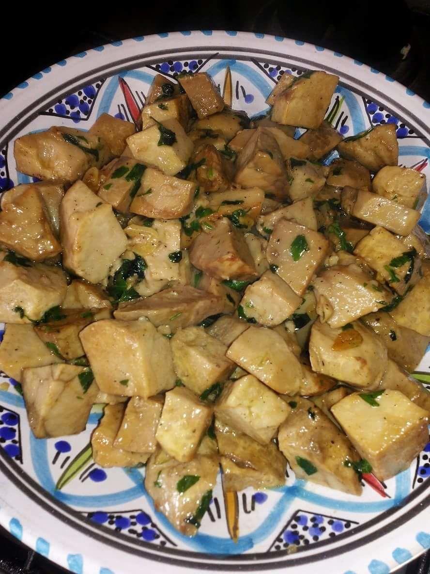 Terfess (Truffes blanches Algériennes ) sautées  au beurre