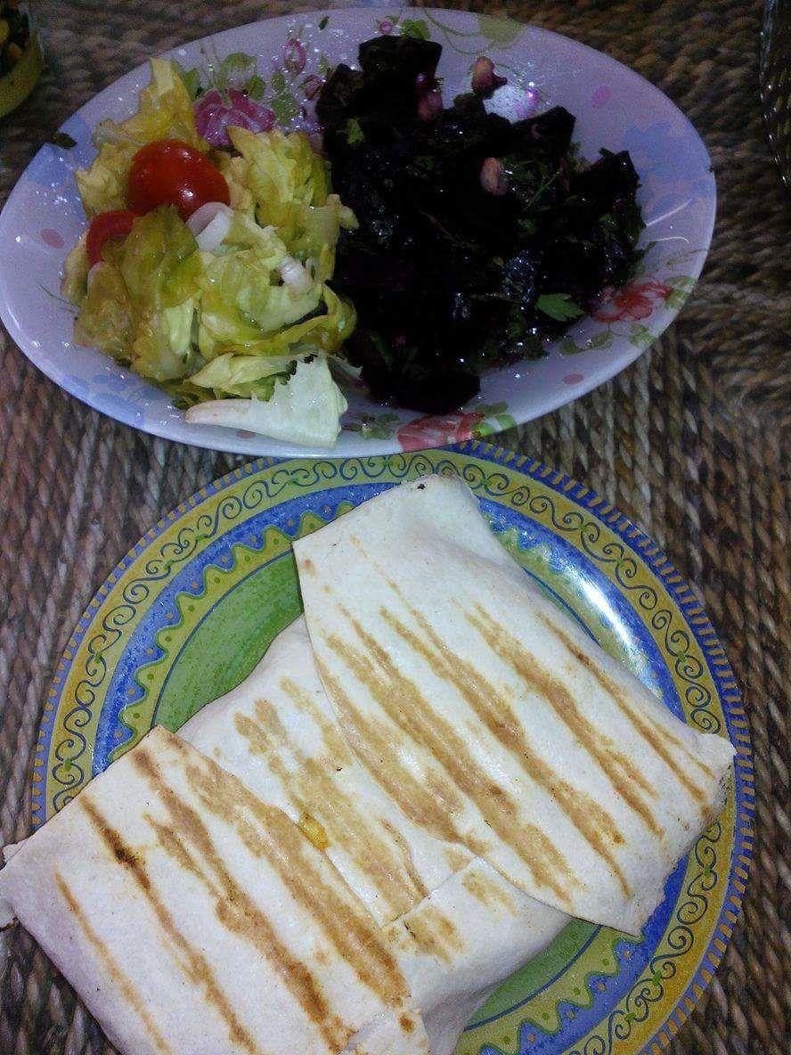 tacos au poulet sauce cremeuse plaisir culinaire algerien. Black Bedroom Furniture Sets. Home Design Ideas