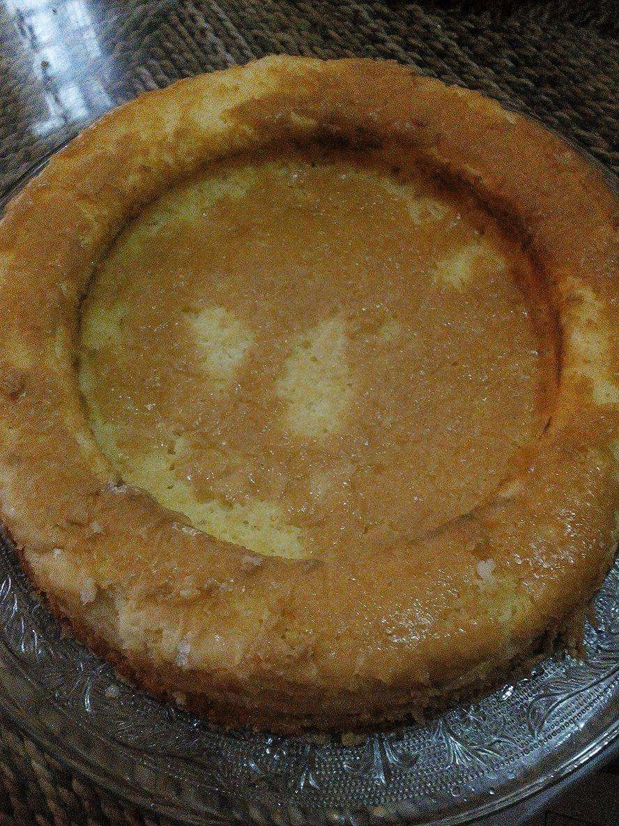 Gâteau renversé au citron