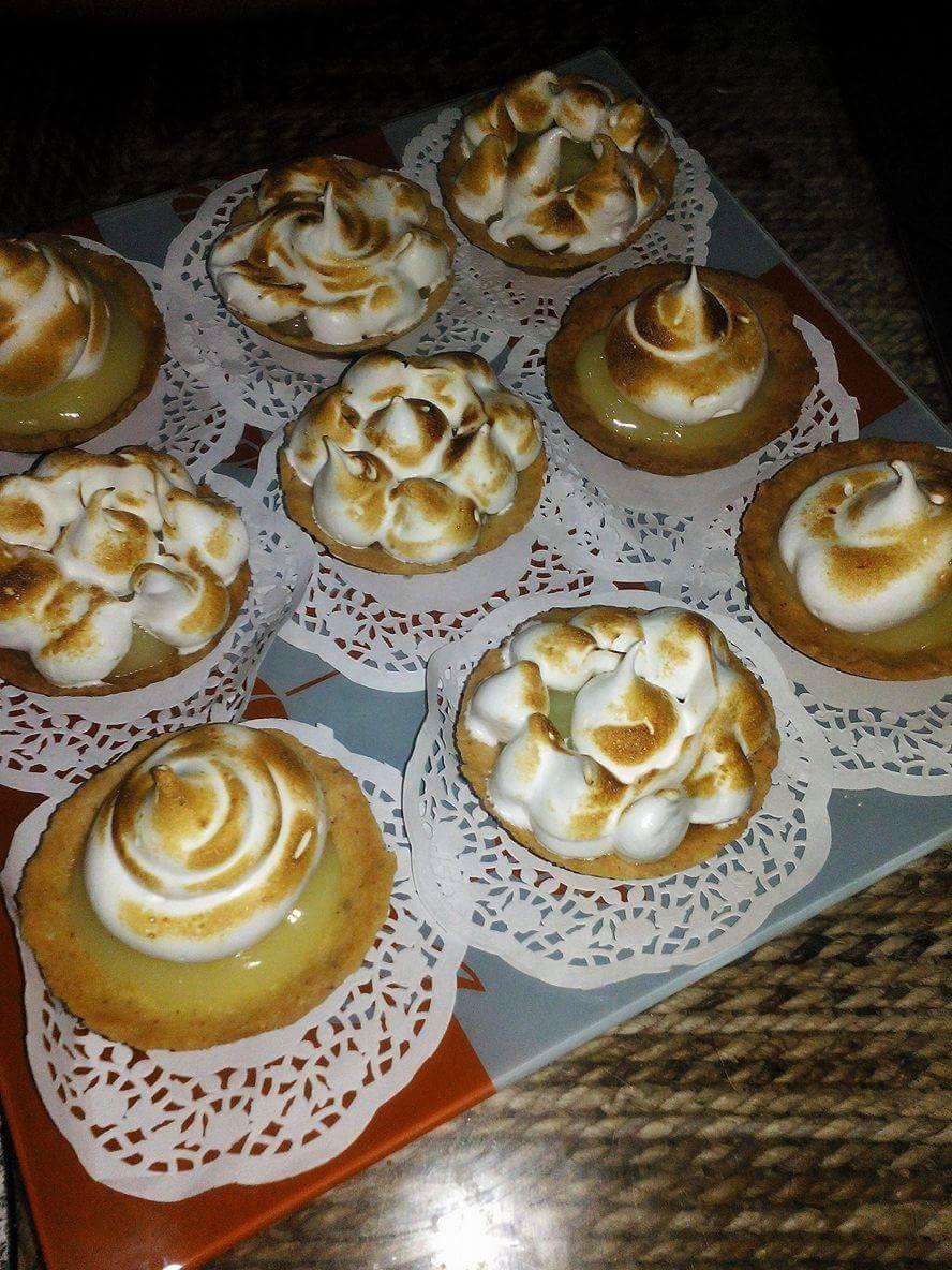 Mini Tartelettes au citron et à la meringue