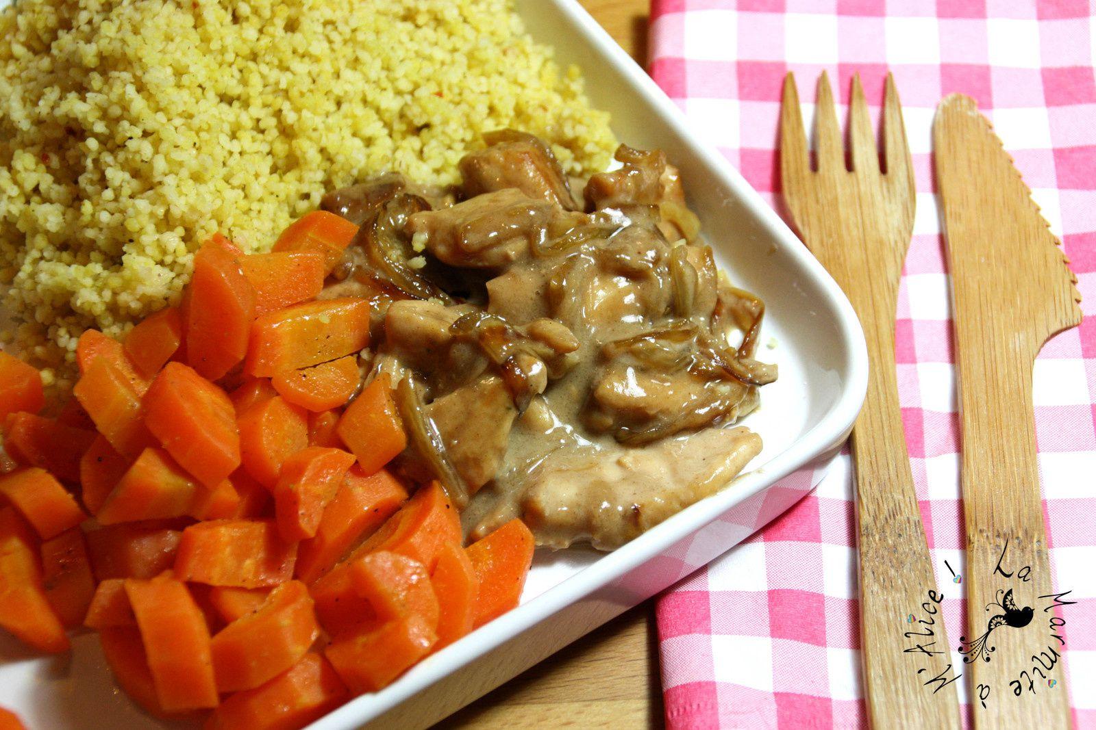 La photo ne rend pas forcément justice au plat mais bloguer ou manger chaud il faut choisir :D