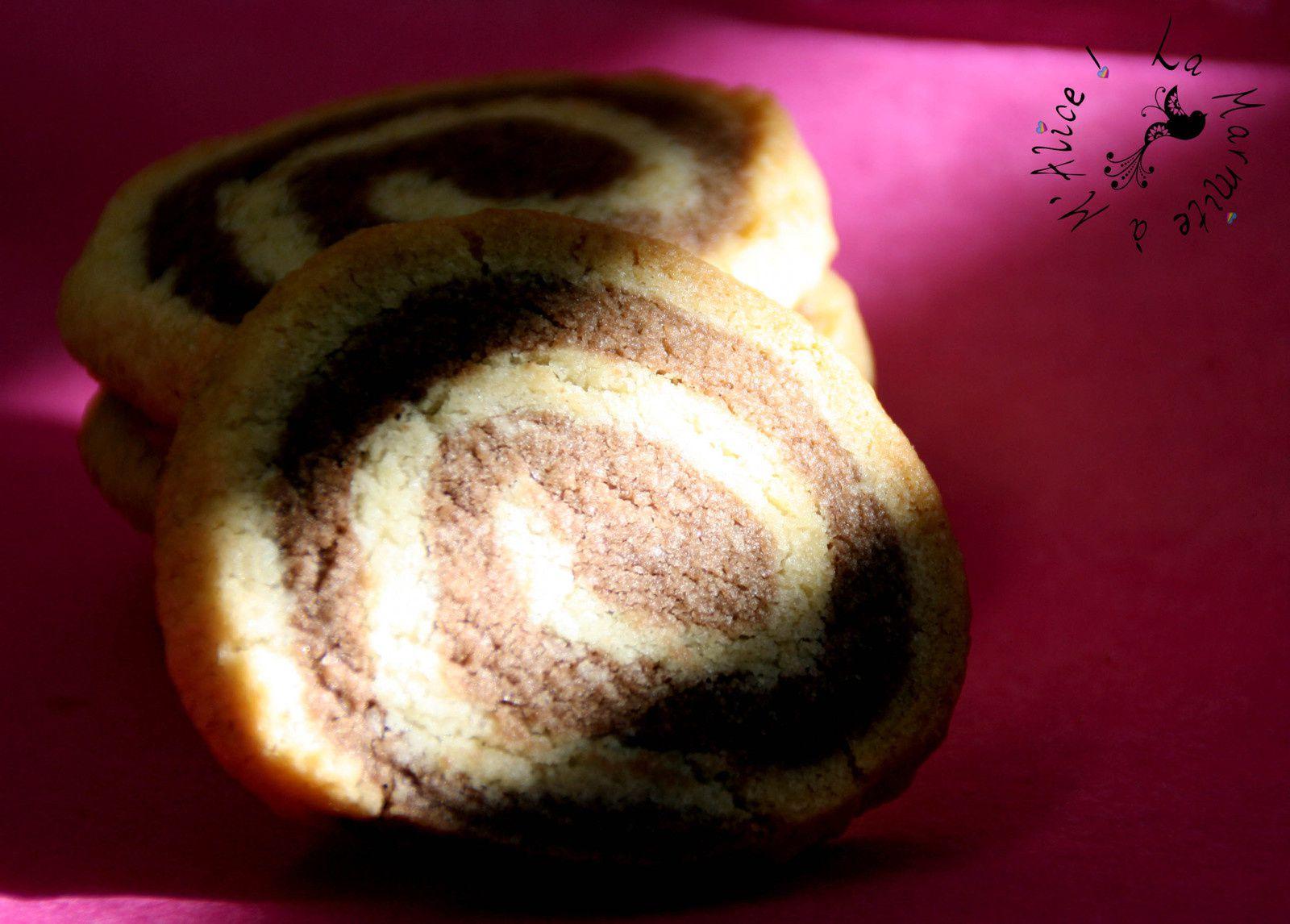 Sablés &quot&#x3B;Spirale&quot&#x3B; Cacao Tonka