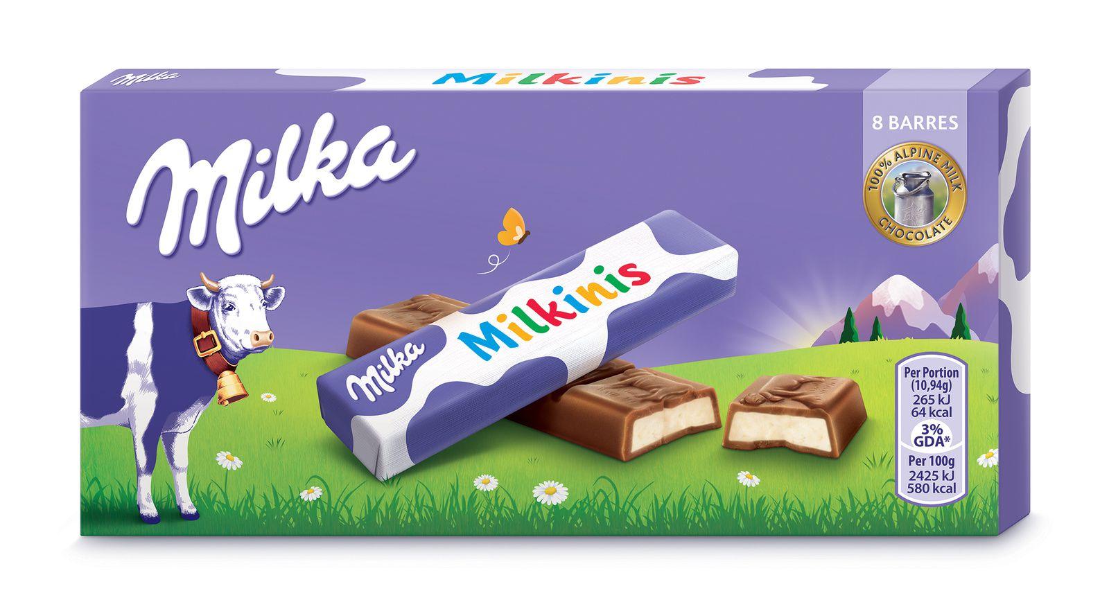Du nouveau chez Milka...