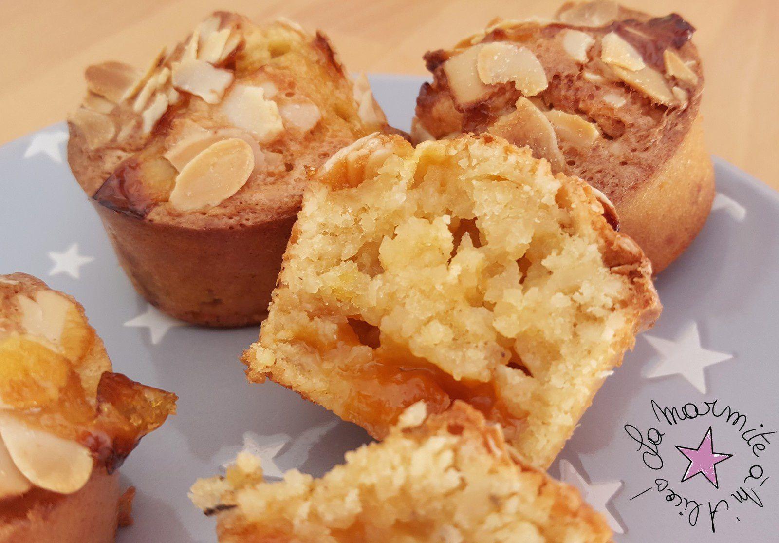 ☆ Muffins Amandine à l'Abricot &amp&#x3B; Tonka ☆