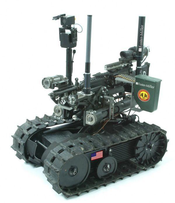 les robots dans l armee