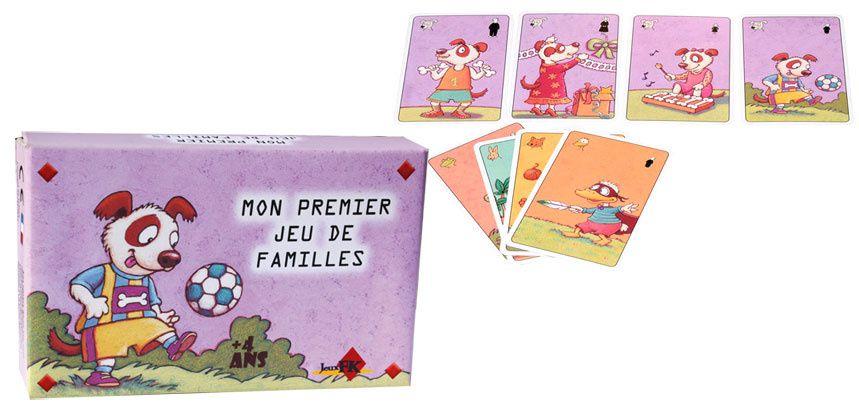 Jeux de cartes pour les enfants dès 4 ans.
