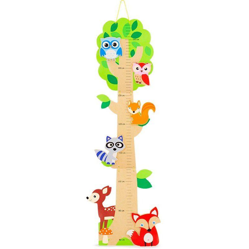 Toise décorative en bois &quot&#x3B;Forêt&quot&#x3B; - Ulysse