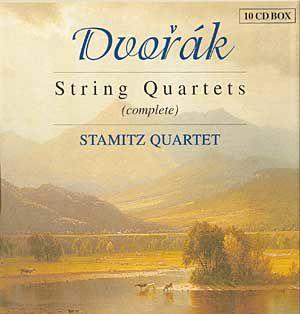Quatuor N°5 - opus 9 d'Anton Dvorak