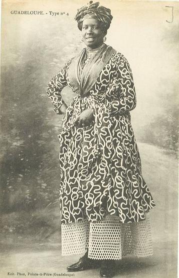 Antan lontan: Femmes créoles