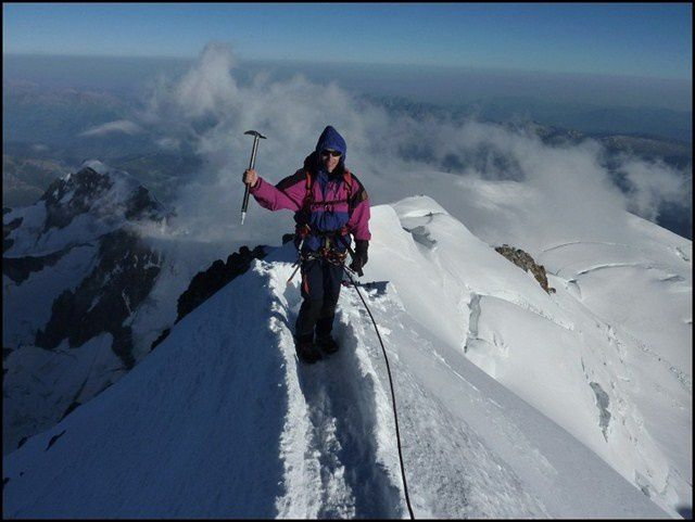 Near the Top of Europe, Mont-Blanc, France