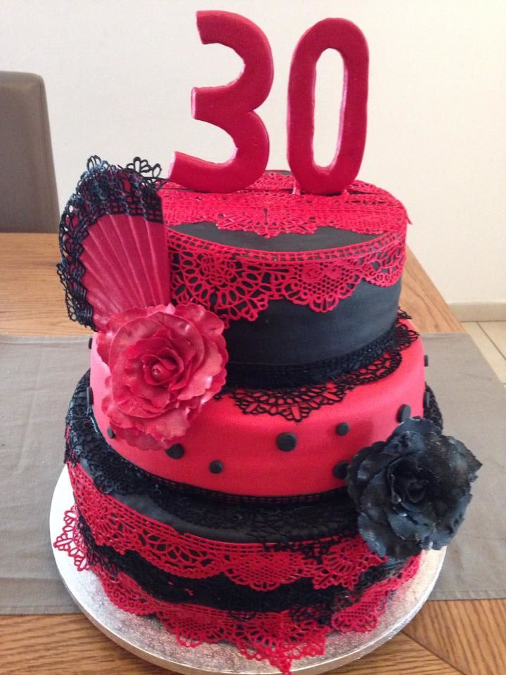 cake design Flamenco