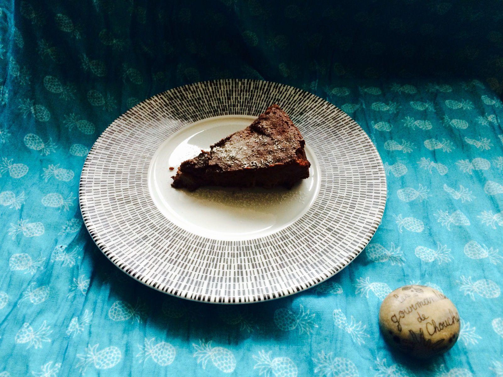 Gâteau chocolat rhubarbe parfait pour la fête des pères