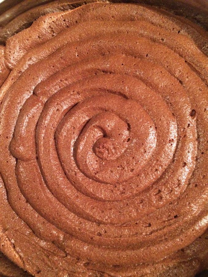 Bavarois chocolat poire