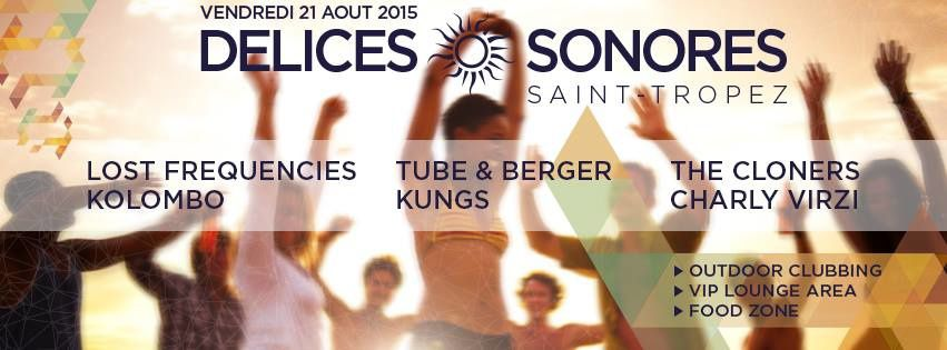 Délices Sonores / Edition N° 1 W/ Lost Frequencies, Kolombo , Tube &amp&#x3B; Berger and More
