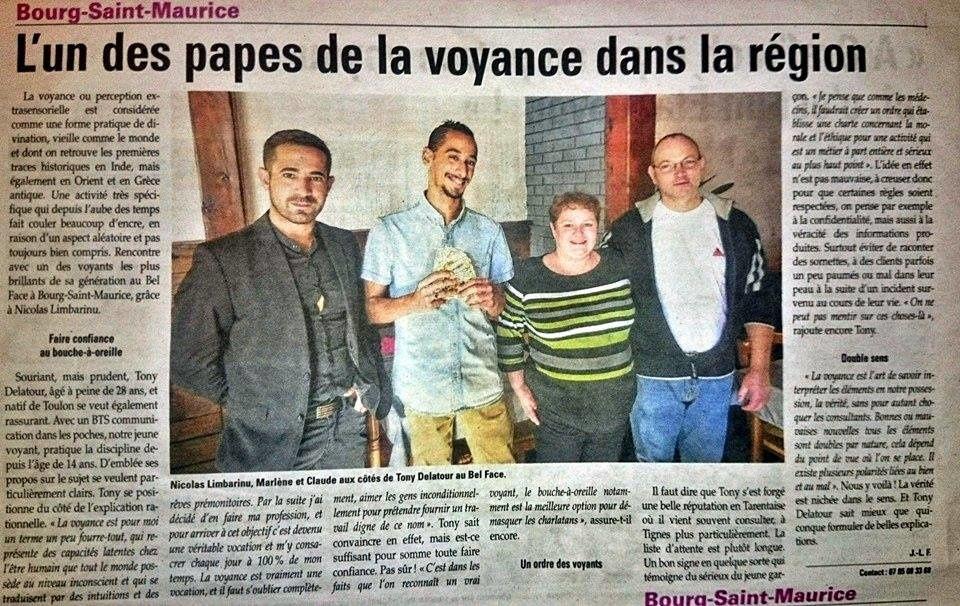 Un des &quot&#x3B;papes&quot&#x3B; de la voyance en Savoie