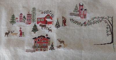 Christmas Village d'octobre