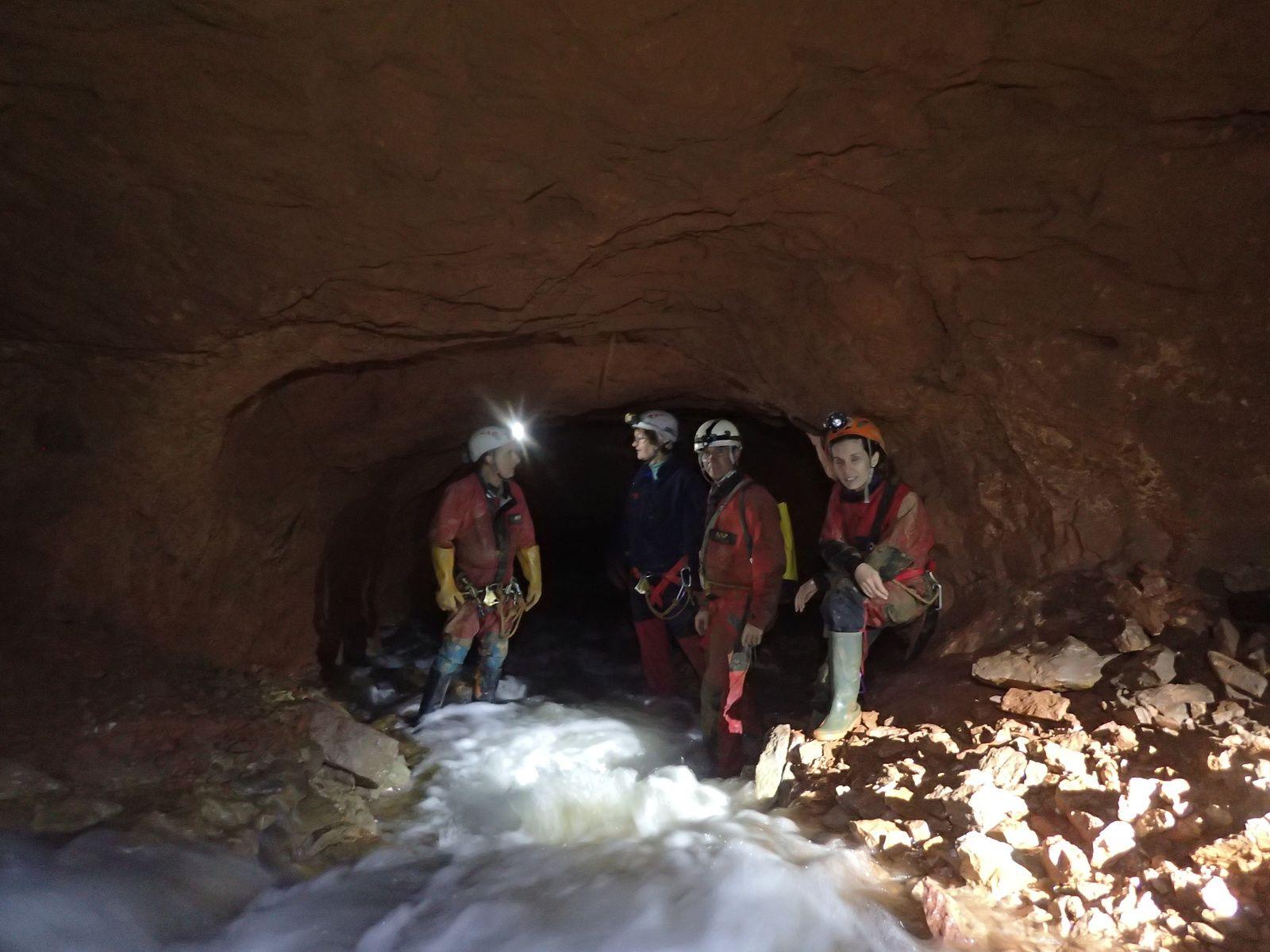 La mine de Mazaugues le 26 novembre 2016.