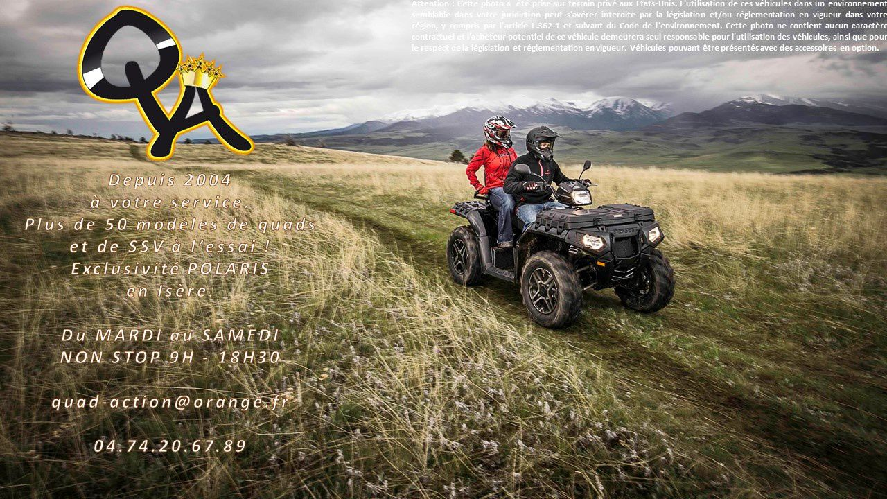 Groupe QUAD ACTION : POLARIS 38 / KYMCO Quad 38