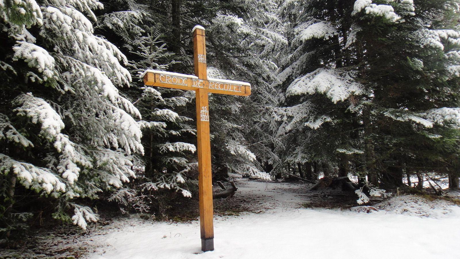 Croix de Reculet (1150m) et Rocher de Marameille