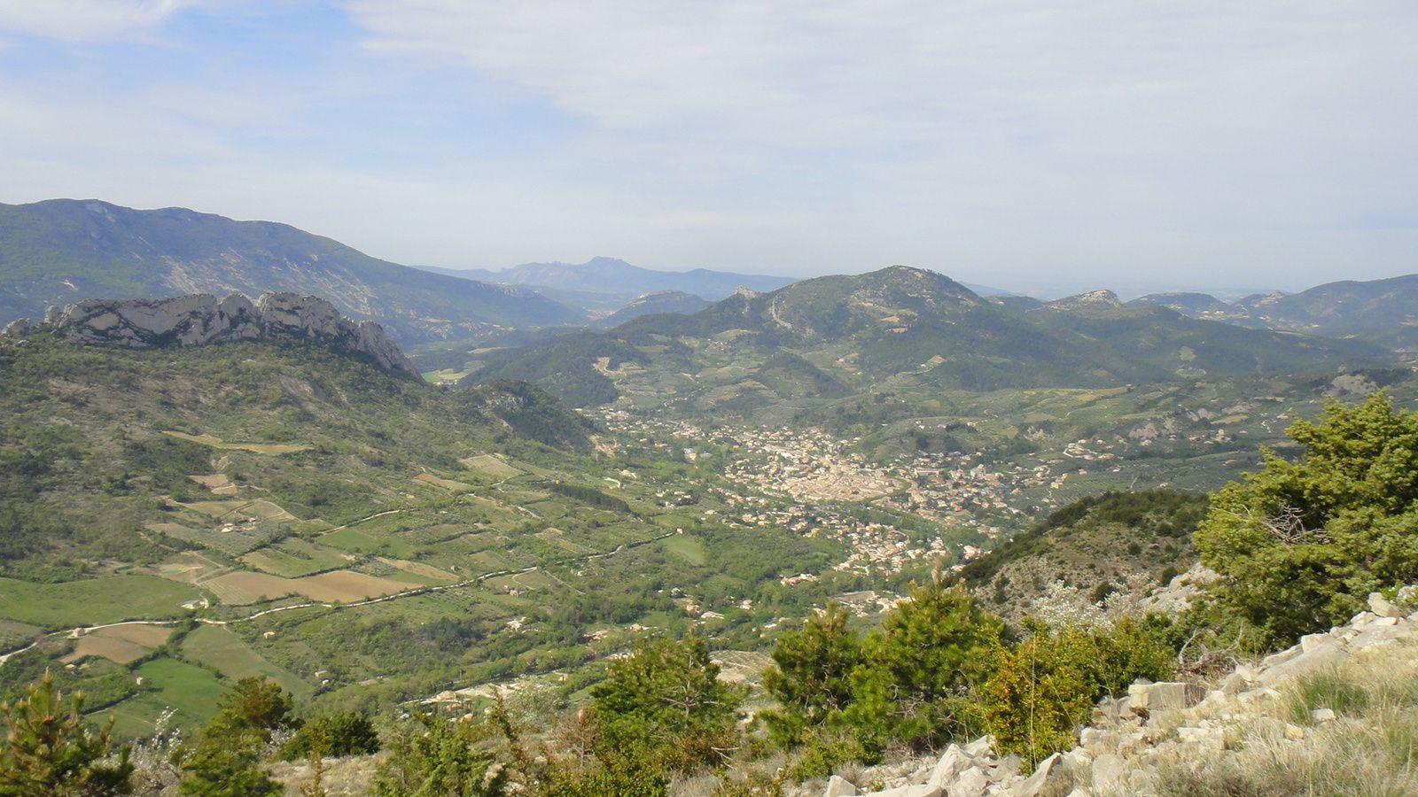 Montagne de Chevalet – Rochers de Trapes Loube (1009m)