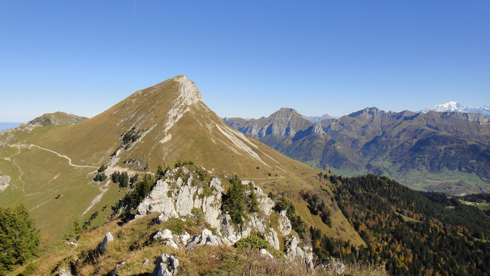 Rochers de la Bade (1850m)