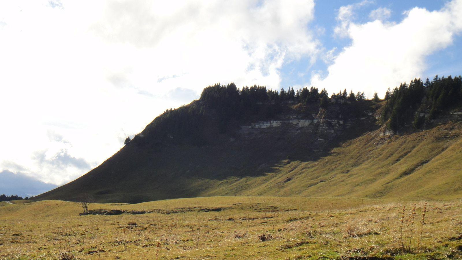 Charande (1709m), depuis le Fournel