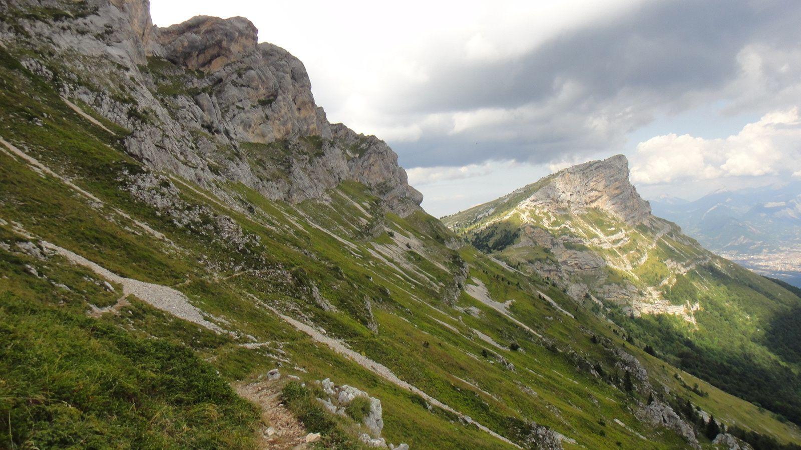 Col de l'Arc (1736m) et Col Vert (1766m)