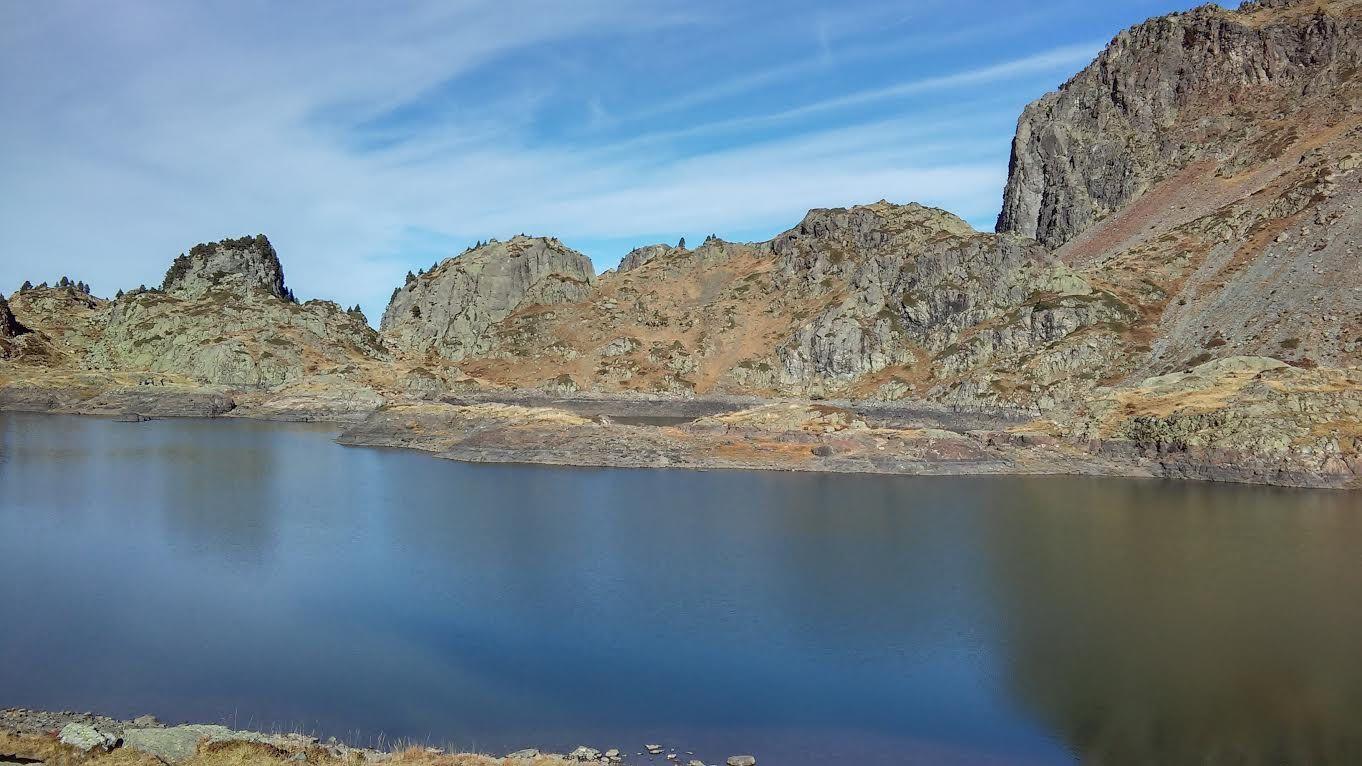 Lacs Robert (1998m), depuis Casserousse, boucle par l'Aiguille et la Brèche Robert Nord