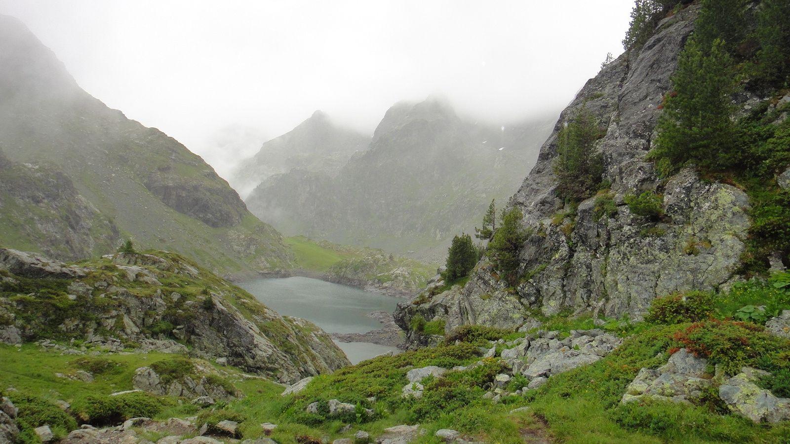 Lac Robert (1998m), depuis le Pinet d'Uriage