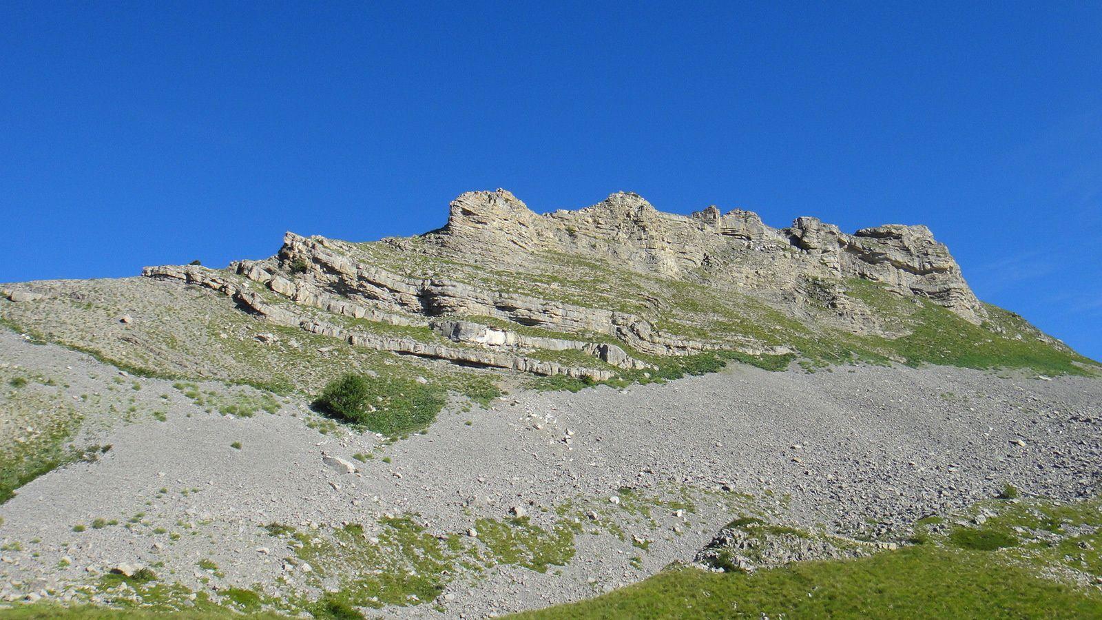 Pic de Gleize (2161m), depuis la station de Laye