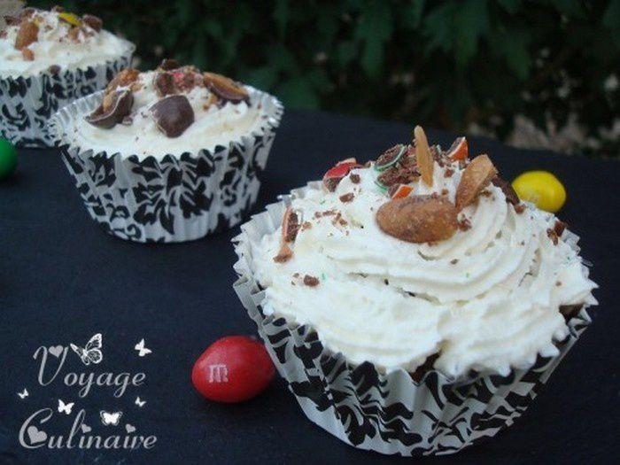 Cupcakes aux M&amp&#x3B;M's