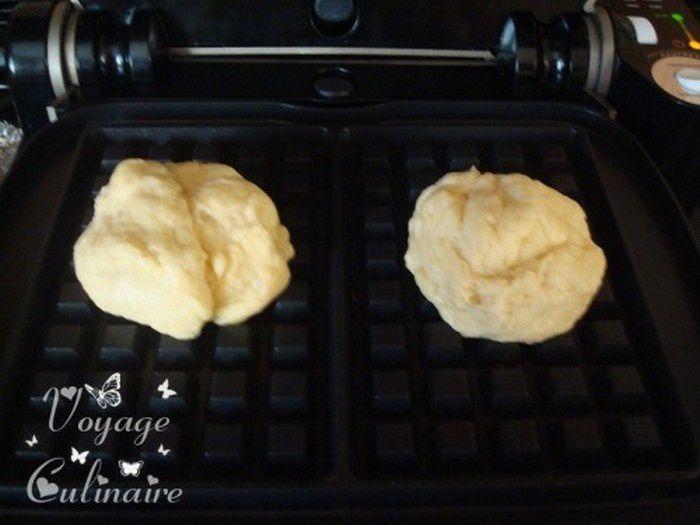 Gaufres liégeoises au lait fermenté