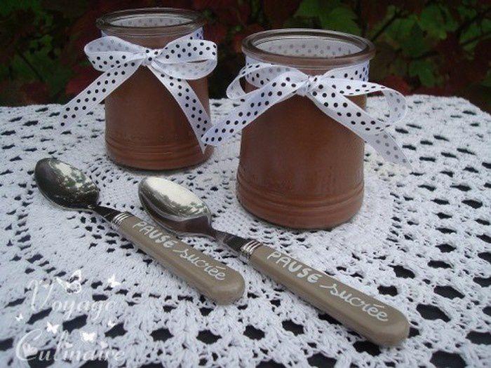 Crème au chocolat et à la cannelle