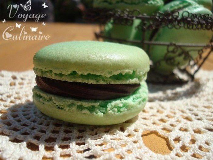 Macarons &quot&#x3B;After Eight&quot&#x3B;