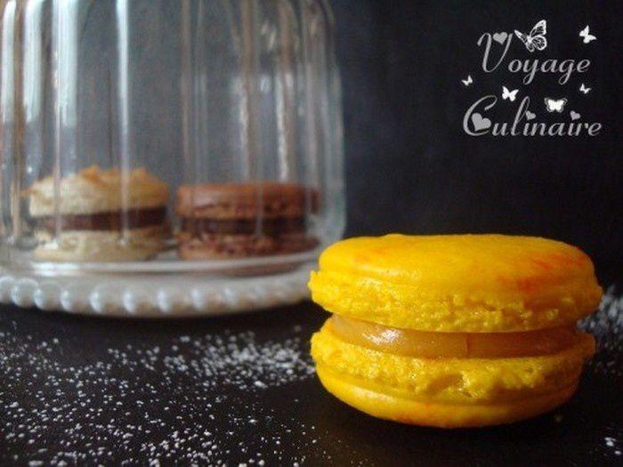 Macarons citron-romarin