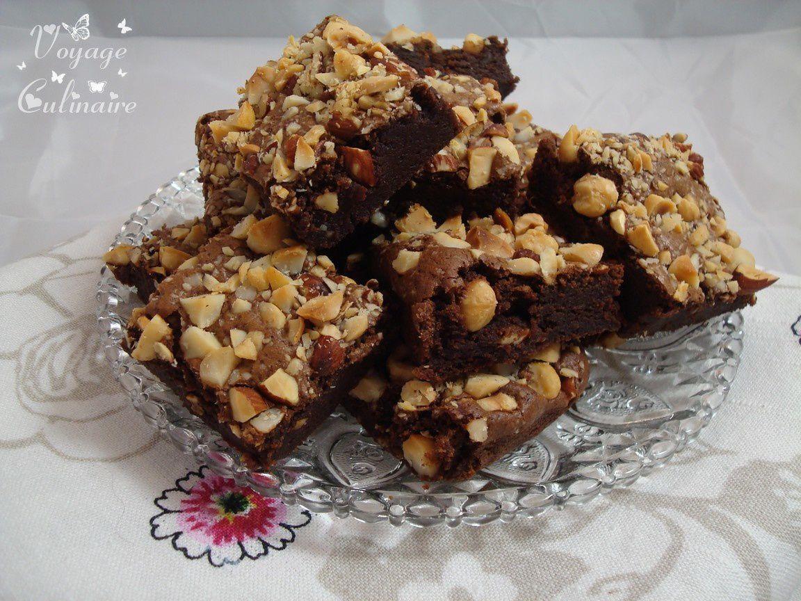 Brownie gourmand à la crème de marron