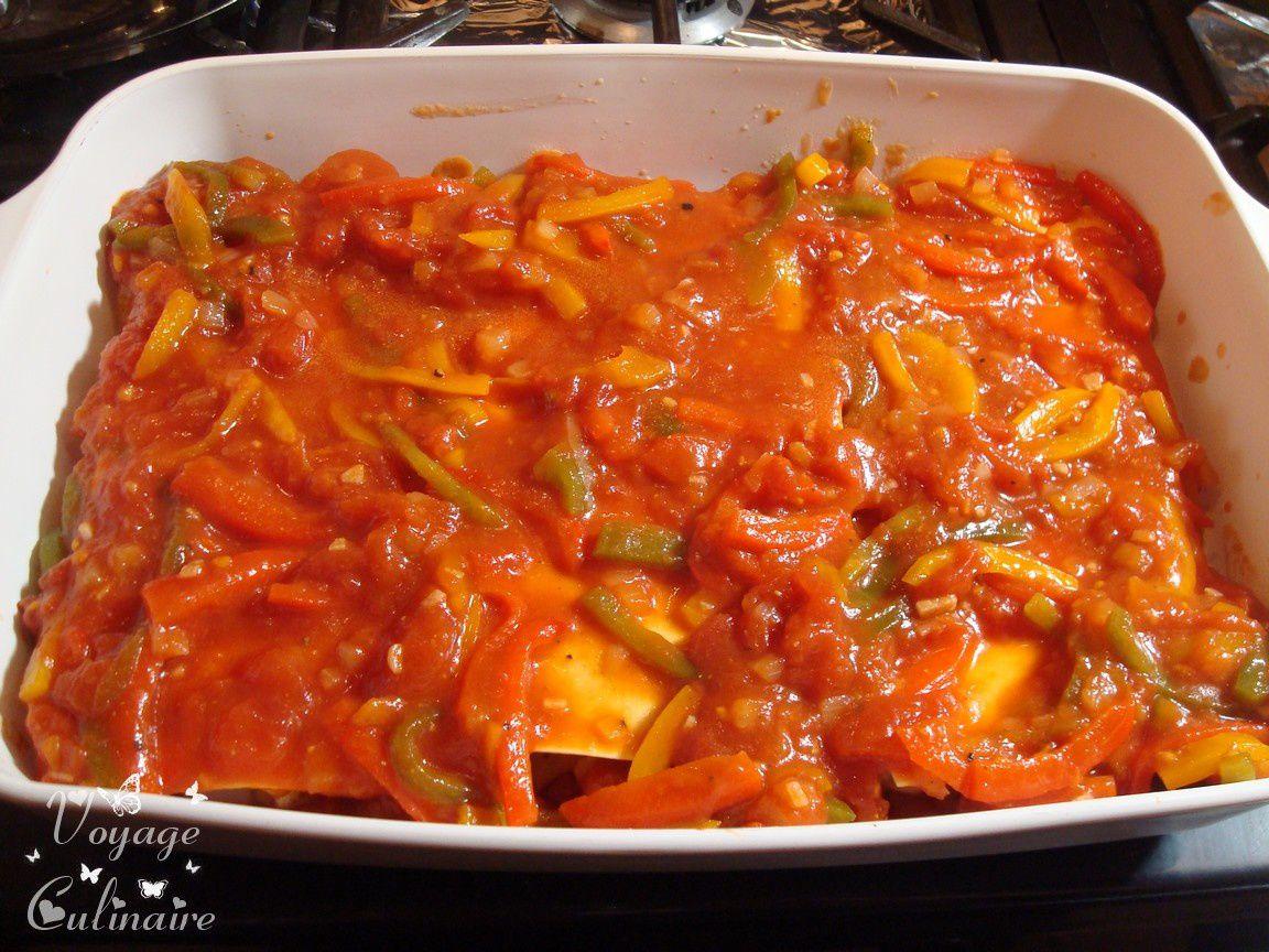 Lasagnes à la dinde et épice tandoori