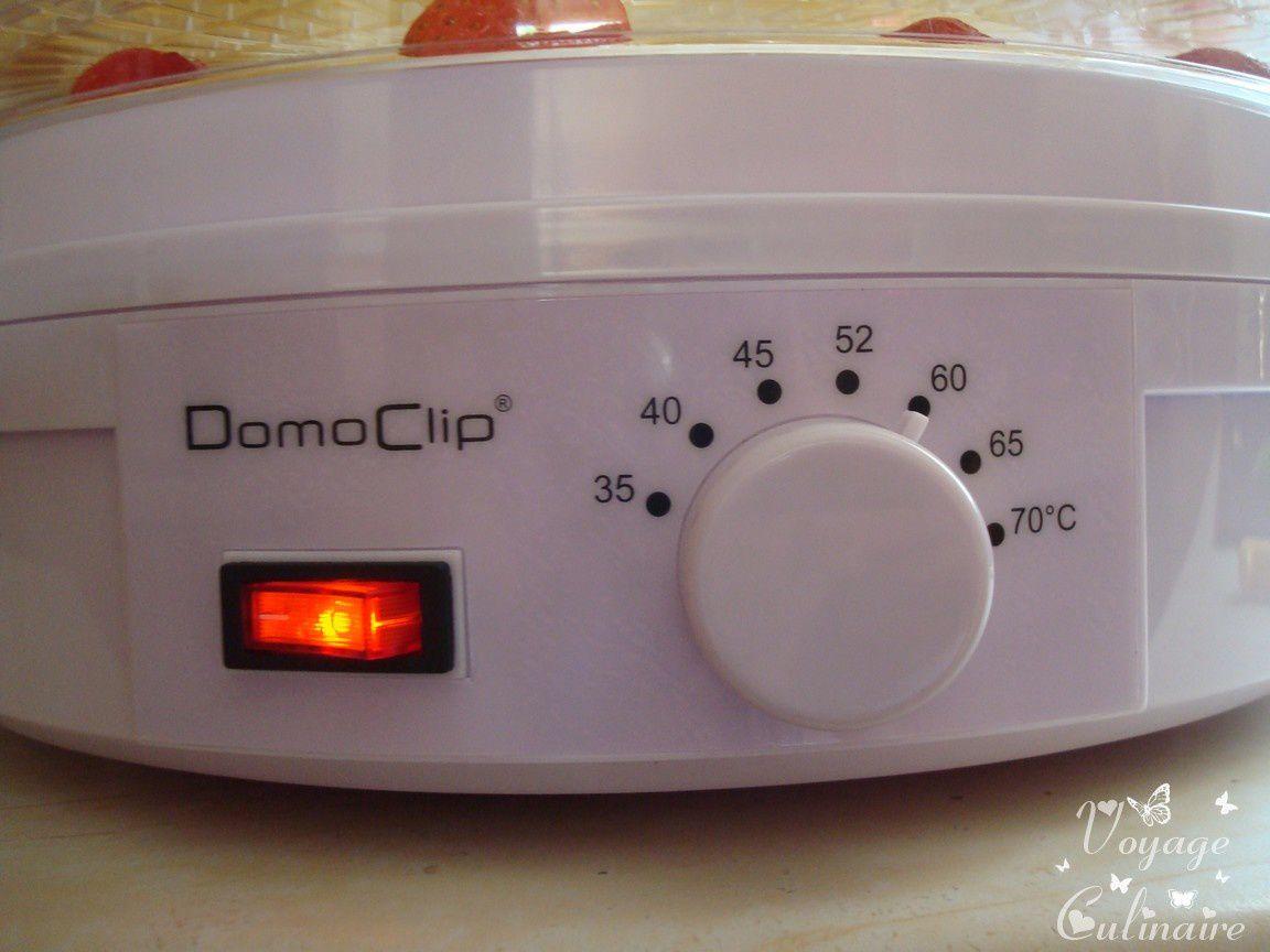 J'ai testé pour vous le déshydrateur Domoclip de chez Objetmania.com