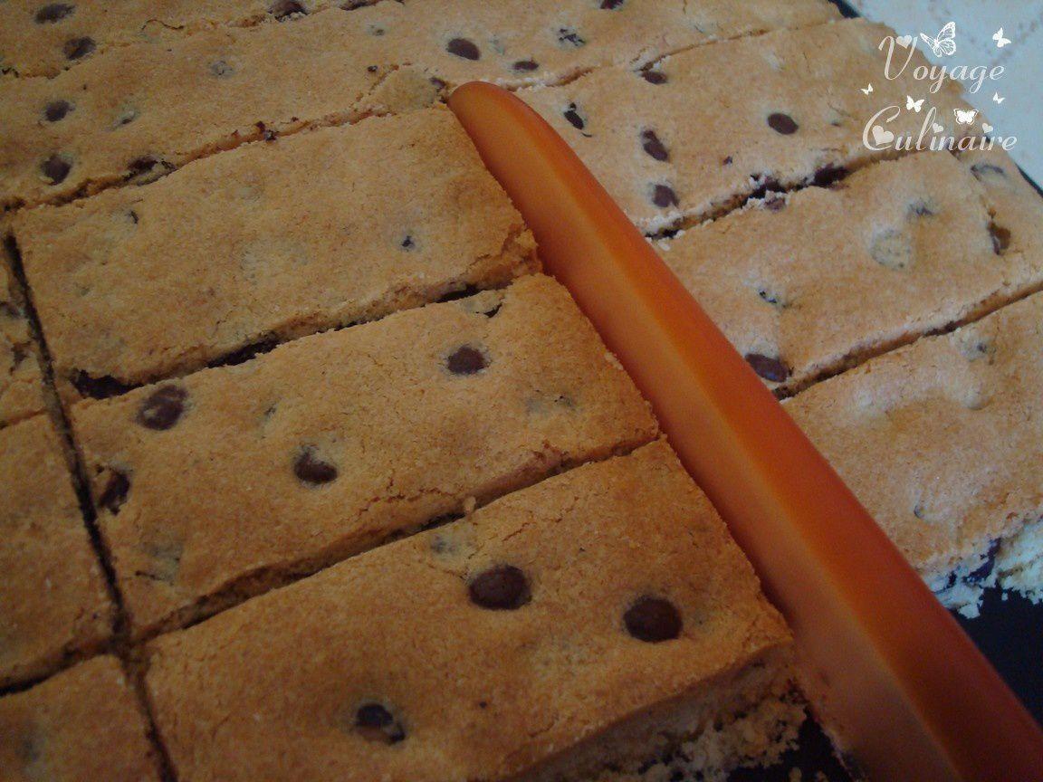 Cookies sticks chocolat-noisettes