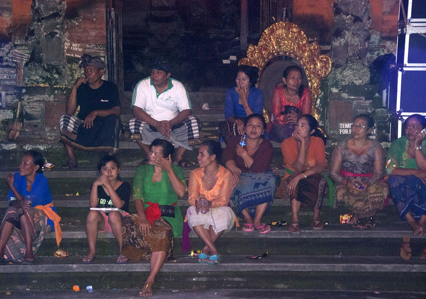 One very long amazing day in Ubud... pics only about the Ogoh-Ogoh during Nyepi and the great Plataran hotel for my Birthday
