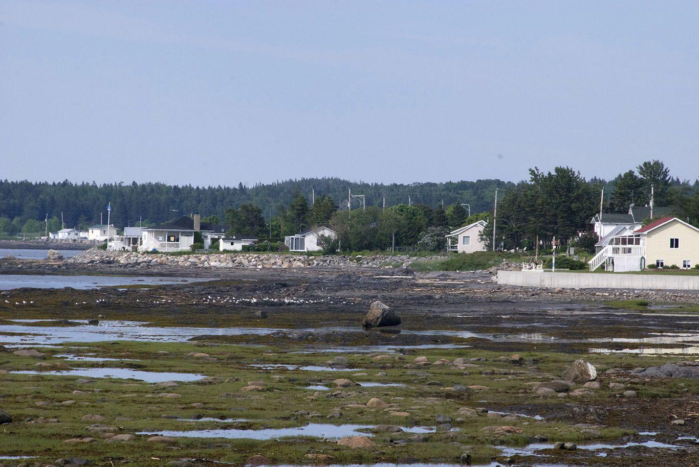 Rimouski: Saumon fumée, Homard excellent, coucher de soleil magnifique sur le fleuve Saint Laurent, balades en forêt dans les portes de l'enfer et sur la côte ouest Gaspésienne...