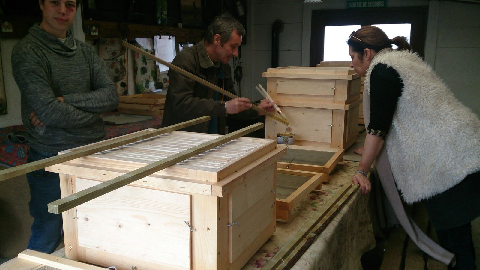 Atelier Lasure à la Ferme Jardin'Hier de Marcq-en-Baroeul ...