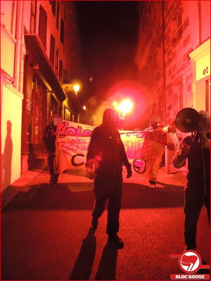 Les débuts de la CARA : manifestation à Chamalières contre les fascistes, manifestation contre les violences policières à la mort de Rémi Fraisse, manifestation contre les crimes fascistes, multiples actions contre les groupuscules fascistes...